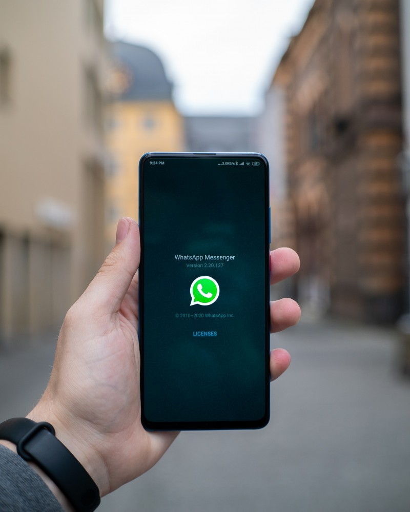 Teaching Online Using WhatsApp Image